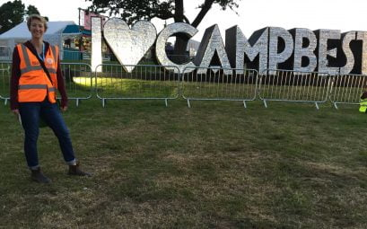 SWWW Volunteering Camp Bestival Title