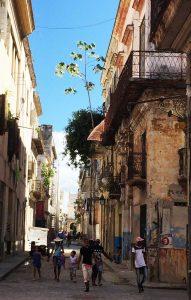 Cuban Back Street, Havana