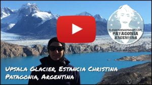 Video of the Upsala Glacier Estancia Christina, Patagonia, Argentina