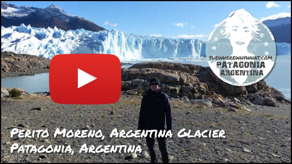 Video of Perito Moreno Glacier in El Calafate - Patagonia, Argentina, South America