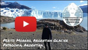 Video of Perito Moreno Glacier in El Calafate - Patagonia, Argentina, South America