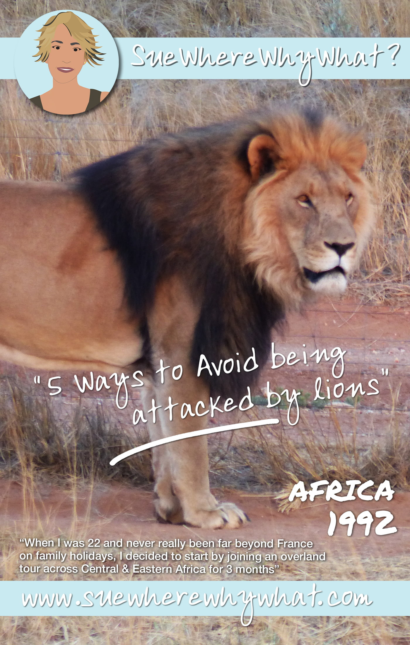 The story of when my camp was attacked by lions in the Serengeti National Park, Tanzania. Yes...really!!