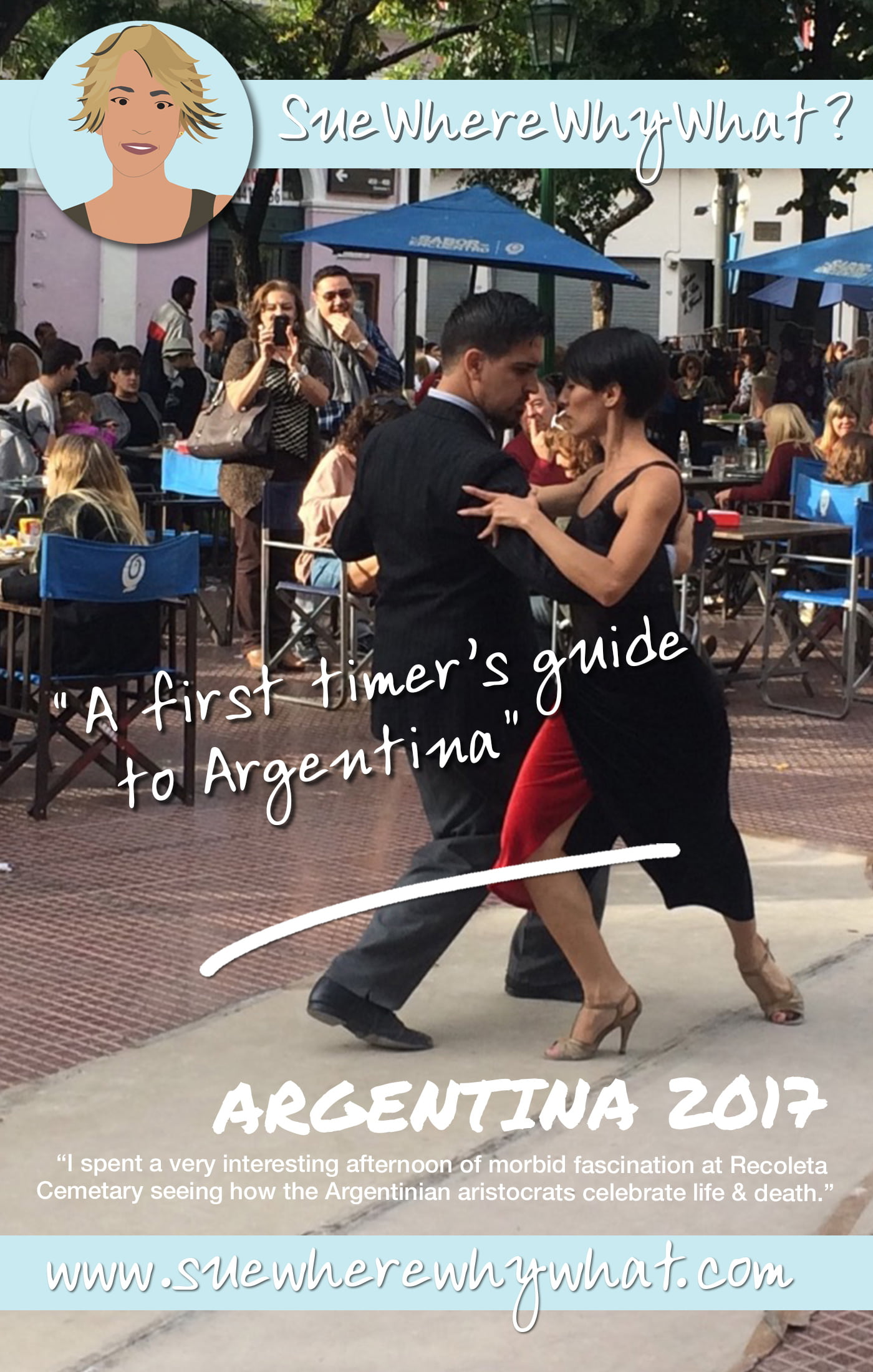 A First Timer\'s Guide to Argentina. Includes Buenos Aires for the city & culture, El Calafate for the mountains & glaciers, Mendoza for the wine and Iguazu Falls for the Waterfalls.  