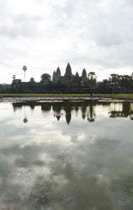 Cambodian Temple. Angkor Wat, Siem Reap