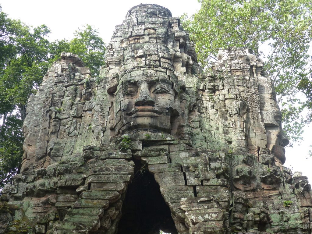 Bayon, temples, Siem Reap, Cambodia