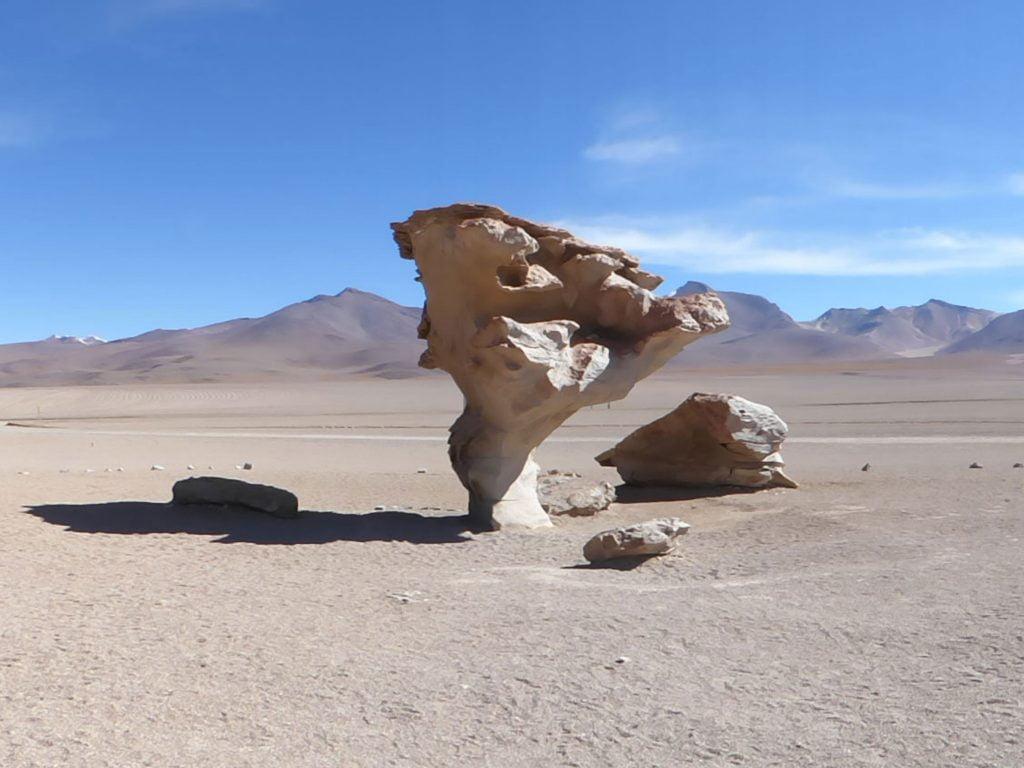 Arbol de Piedra (Tree rock), Bolivia