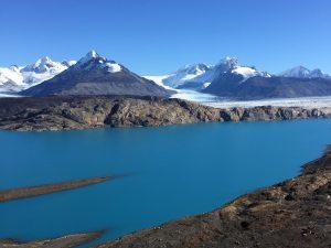 Upsala Glacier from Estancia Christina, Patagonia, Argentina