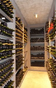The fantastic, mouth watering wine cellar at Sophenia, Mendoza, Argentina