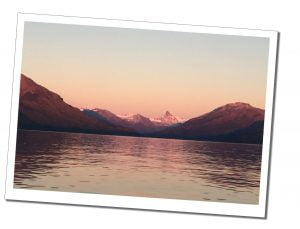 Sunrise at Upsala Glacier from Estancia Christina, Patagonia