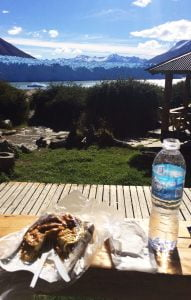 Lunch - Perito Moreno Glacier, Patagonia