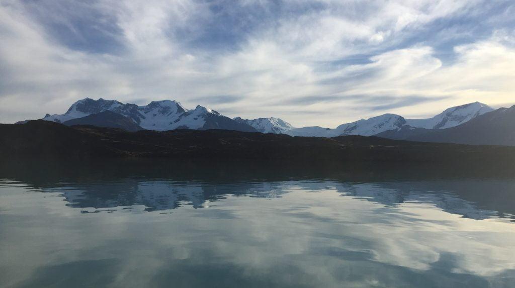 Upsala Glacier from Estancia Christina, Patagonia