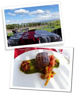 Delicious courses during a visit to Bodega Ruca Malen for Six Course Tasting Menu excursion, Mendoza