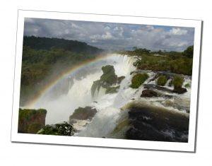 Rainbow at The Upper Circuit, Iguazu Falls