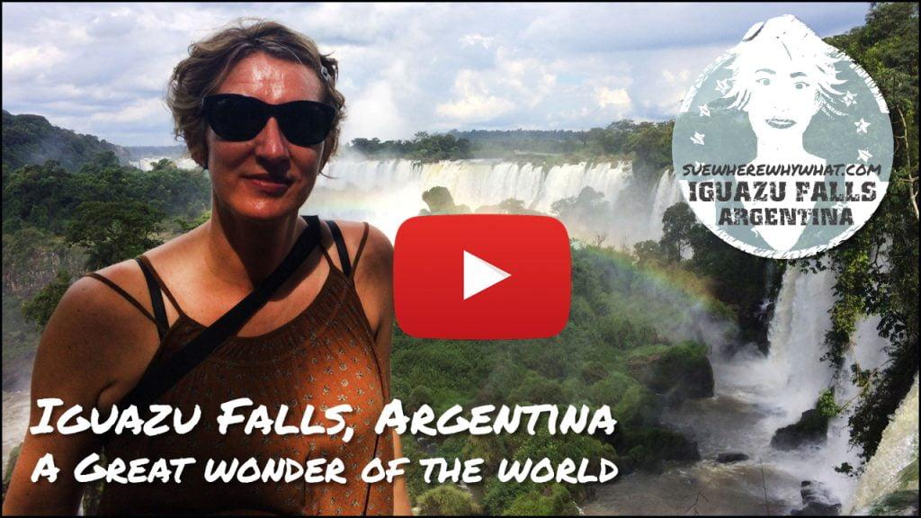 My video of Iguazu Falls, Argentina