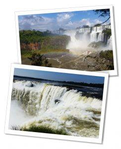 Waterfalls of the Lower Circuit, Iguazu Falls, Argentina