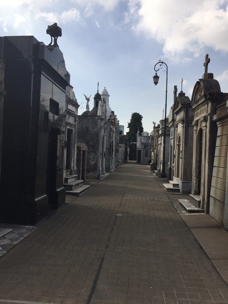 Eery tombs Recoleta Cemetary, Buenos Aires, Argentina