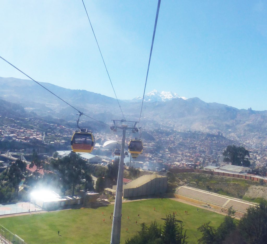 Cable Car, La Paz, Bolivia