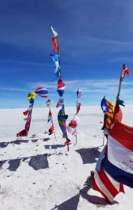 Flags of the World, Salar de Uyuni (Salt Flats), Bolivia