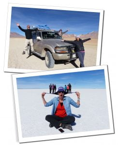 Uyuni, Salt flats in Bolivia