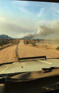 Namibia Bushfire