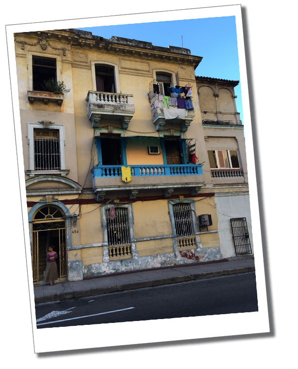 Casas Particulares – are basically a room in a family home, Havana, Cuba
