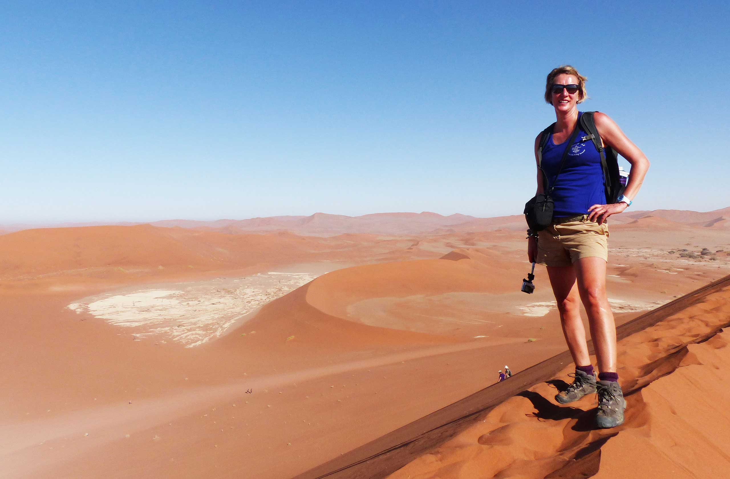 Big Daddy Sand Dune, Sossusvlei, Namibia, Africa. Fantastic 6 Dunes & Wildlife Tour of Namibia