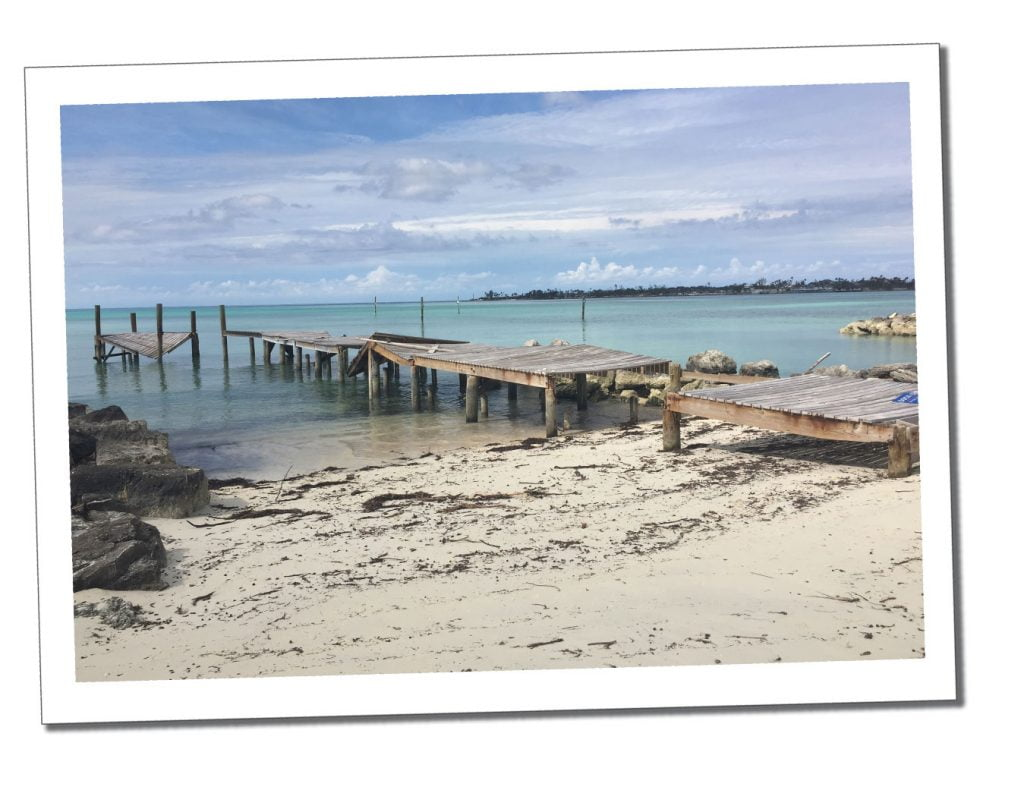 A broken dock, at Nassau, The Bahamas, 6 Top Tips on Visiting An Area After a Hurricane