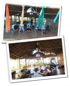 Yoga, at retreat insider, Viñales, Cuba