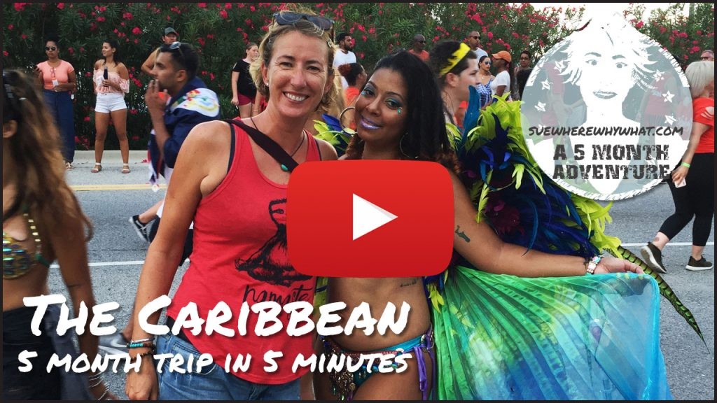 The Caribbean - A 5 month trip in 5 minutes (Includes Dominican Republic, Costa Rica, Cuba, Antigua)