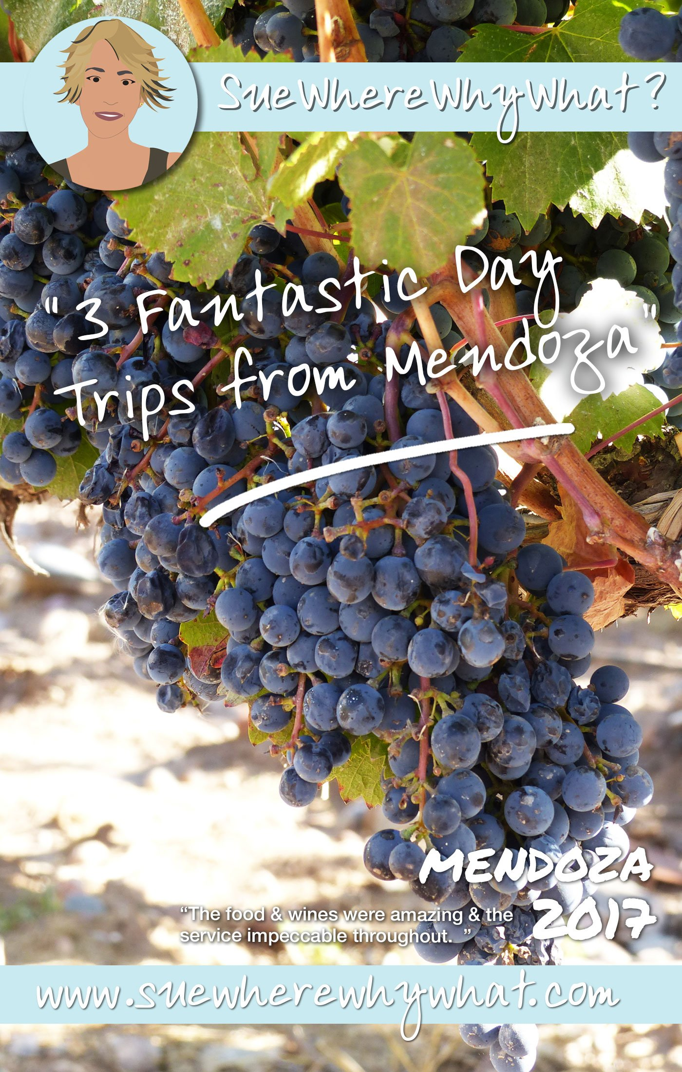 3 Fantastic Day Trips from Mendoza, Argentina. Includes taking a 6-course tasting menu for lunch in a winery, a wine tasting tour of Uco Valley and a day at a thermal spa. Oh...and a lot of Malbec!