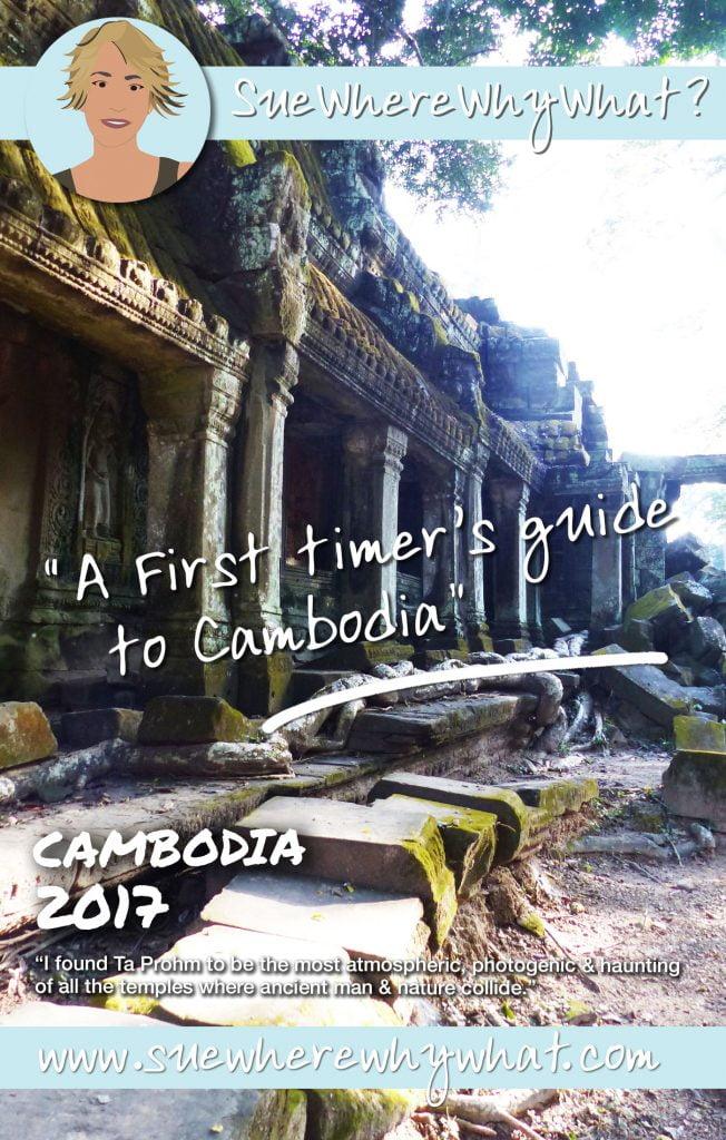 A ruined temple, Ta-Prohm, Cambodia