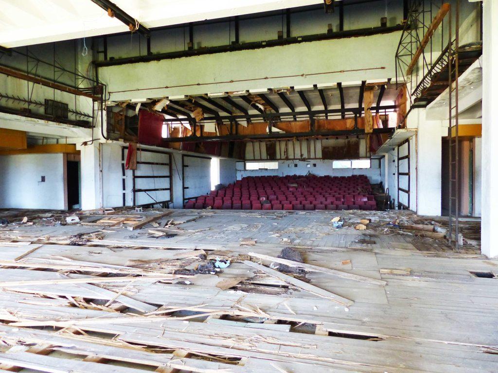 Inside the old Theatre, Tarara, Cuba