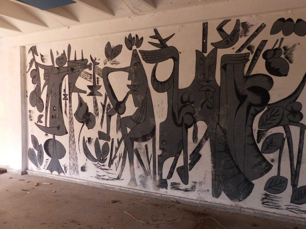 Inner Mural, Old Theatre, Cuba