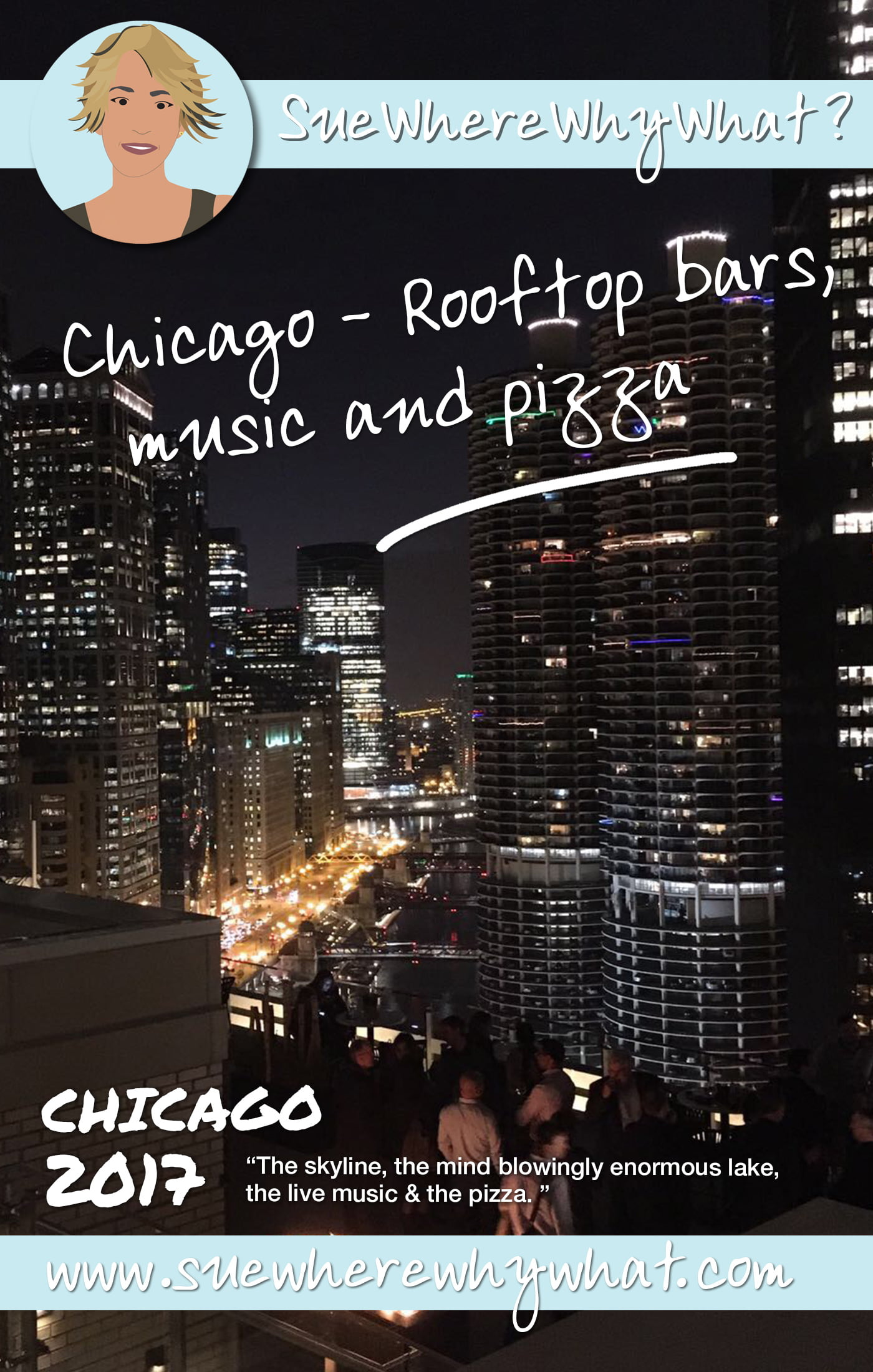 Rooftop Bars, Live Music & Pizza in Chicago