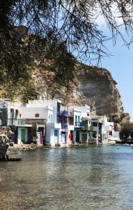 Klima, Milos, Greece