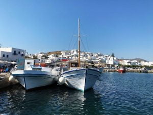 Naoussa, harbour, Paros, Greece