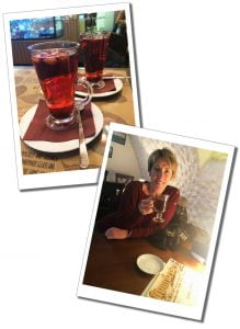SueWhereWhyWhat Drinking Mulled Wine, Tallinn Old Town, Estonia