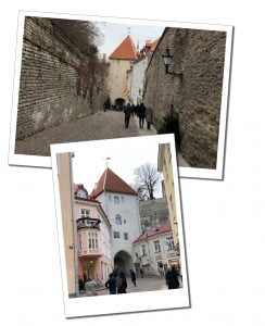 Street views of Tallinn, Estonia's Longleggate
