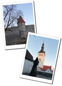 KiekindeKok in Tallinn, Old Town, Estonia. Conjuring up visions of medieval times in Toompea.