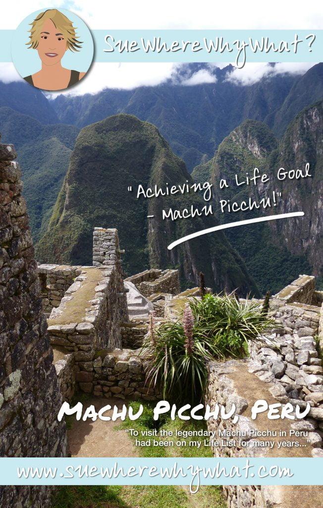 Rich Pin of outer walls of Inca buildings, Machu Picchu