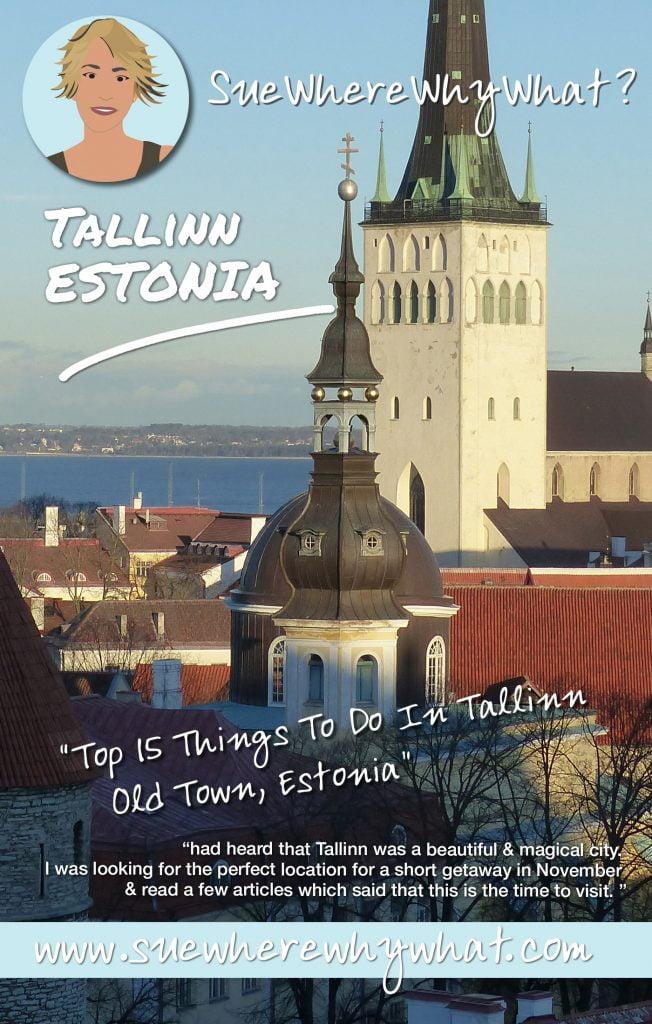 Viewpoint over Tallinn, Estonia