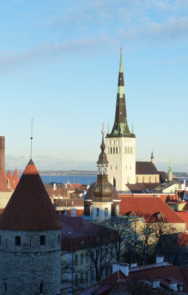 The famous view point, Tallinn, Estonia