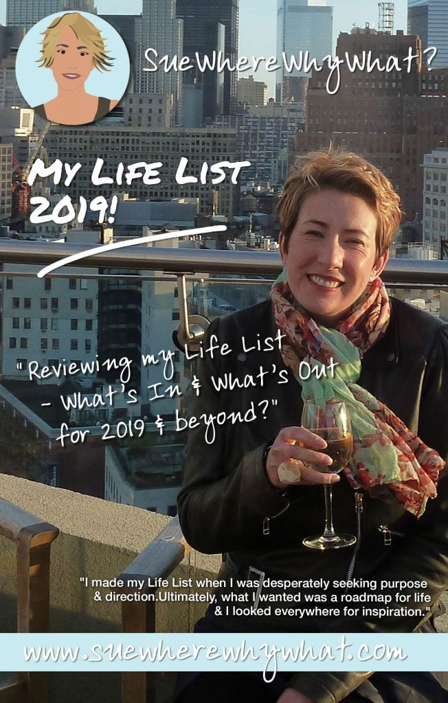 Pinterest Rich Pin of Suewherewhywhat drinking wine in New York