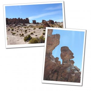Valley of Rocks, Bolivia. A wide area of all shapes and sizes!