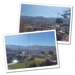 Cable Car, La Paz, Bolivia