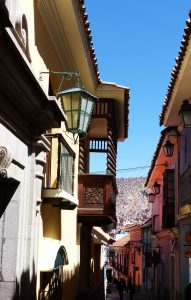 Calle Jaen, La Paz, Bolivia