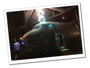 El Avion – A must see & do visit in Quepos is this bar & restaurant built around & within a converted cargo plane. Costa Rica