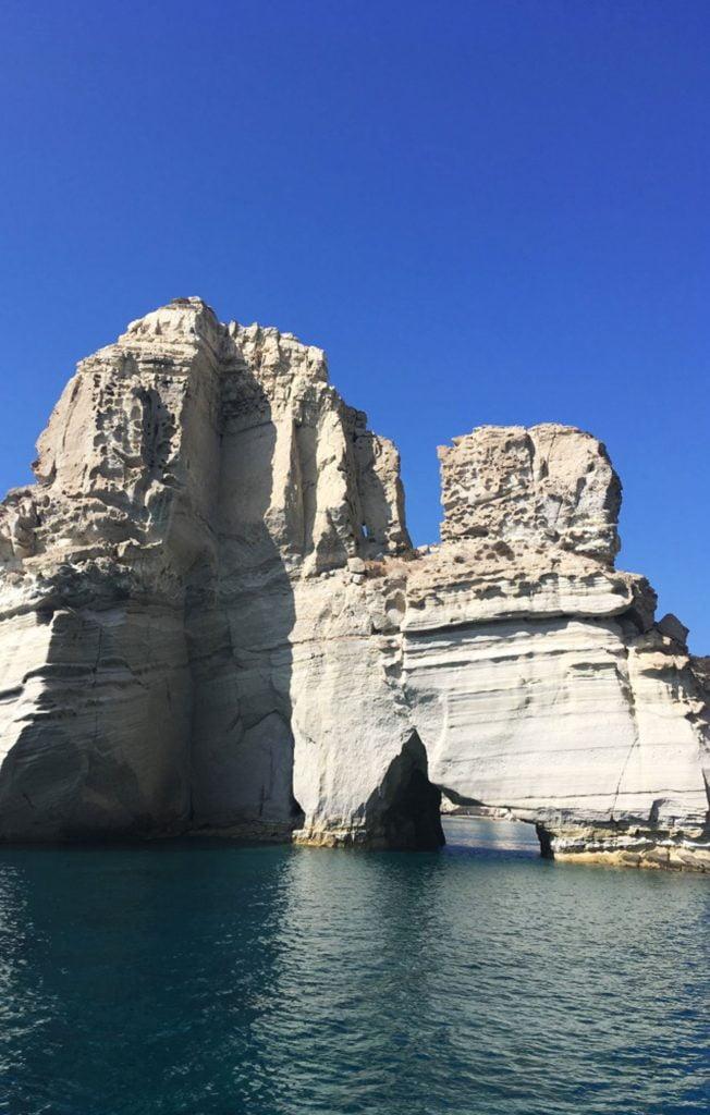 Kleftiko rocks, Milos Boat Tour, Greece
