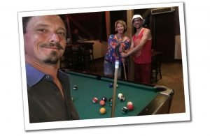 Suewherewhywhat playing pool with friends, Nassau, Bahamas, Best of the Bahamas