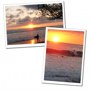 Sunsets & surfing, Santa Teresa Beach, Costa Rica